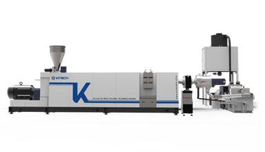 KSP80 Single Screw Plastic Pelletizing Line