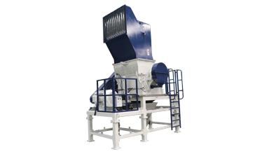 Heavy duty plastic crusher machine for grinding recycling Nylon yarn